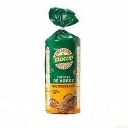 Tortitas arroz multicereales BIOCOP 200 gr BIO